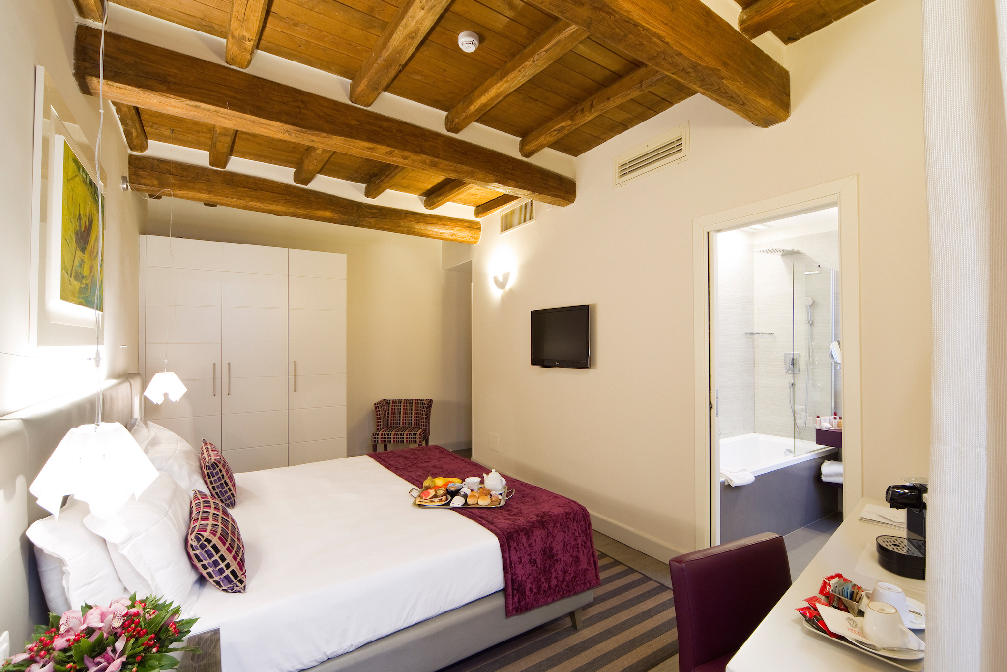 Trevi Palace Luxury Inn | Rome | Deluxe Room